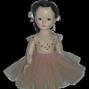 Vintage 14 inch Hard Plastic Madame Alexander Margaret Face Ballerina Doll 1950's