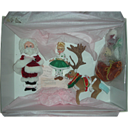 Rare Madame Alexander Santa's World Christmas Dolls in Box