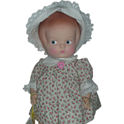 Effanbee Patsy Vinyl Doll 14 Inch All Original with Tags