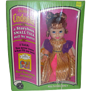 Vintage Mattel Small Talk Cinderella Doll NRFB 1968 Storybook Small Talking Dolls