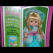 Vintage Mattel Storybook Small Talk Little No Peep Doll 1968 NRFB
