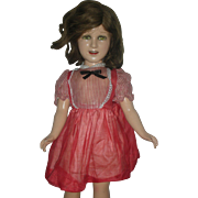 21 Inch Ideal Deanna Durbin Composition Doll Compo Dolls