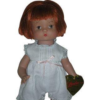 Robert Tonner Effanbee Patsy Doll 14 inches with Wrist Tag and Red Hair