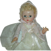 Rare Madame Alexander Doll Alexander-Kins Baby Doll 7 inch Baby Doll 1950's