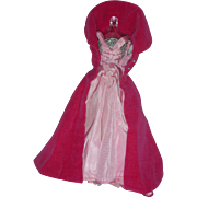 Vintage Barbie Doll Sophisticated Lady #993 Gown and Cape Early 1960's