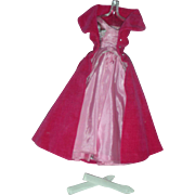 Vintage Barbie Doll Sophisticated Lady #993 Gown, Gloves and Cape Early 1960's