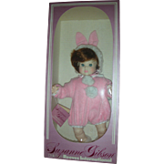 Vintage Suzanne Gibson Easter Bunny Doll From Reeves International Collection NRFB