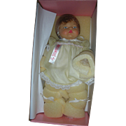 Tiny Thumbelina Doll Doll NRFB with Original Certificate of Authenticity