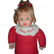 Vintage Mattel 1965 Talking Baby Secrets Doll Still Works