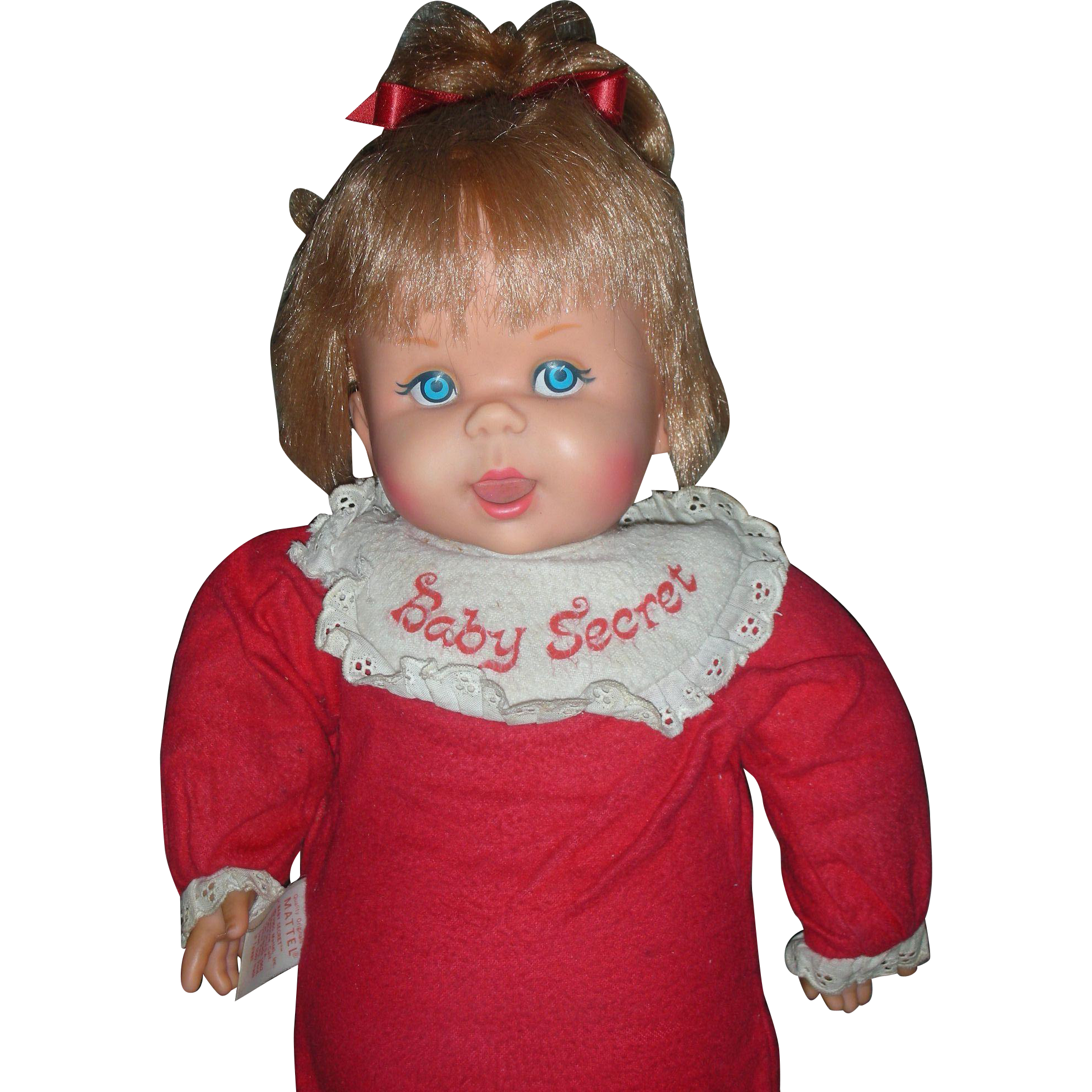 Vintage Mattel 1965 Talking Baby Secrets Doll Still Works