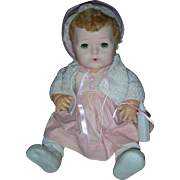Vintage Effanbee Dy-Dee Doll Drink and Wet Baby Dy Dee