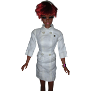 Vintage Mod Era Nurse Julia Doll Diahann Carrol Barbie Family 1960's