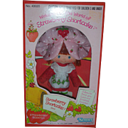 Vintage First Issue Kenner Strawberry Shortcake Doll Flat Hands 1980 NRFB
