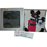 Vintage 1950's Cosmopolitan Ginger Ginny Doll Disney Mickey Mousekeketeer Outfit in Box 8 inch walker Dolls