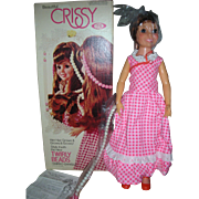 Rare Ideal Twirly Bead Crissy Doll Mint in Box Circa 1974