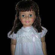 Vintage Ideal Patti Play Pal Doll Walks Dark Hair Playpal G-35 Companion Dolls Walker