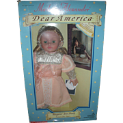 Madame Alexander Dear America Doll NRFB with Book Margaret Ann Brady Voyage of the Titanic
