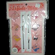 Vintage Barbie and Midge #1831 For Barbie Dress Makers Mint on Card MOC