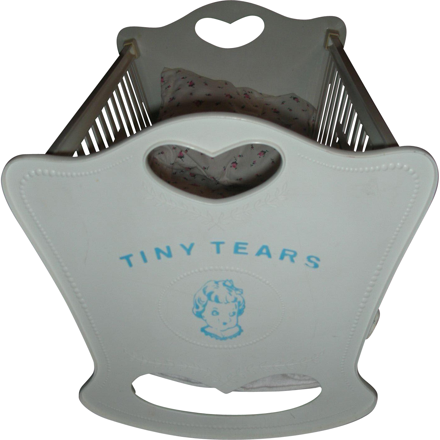 Vintage American Character Tiny Tears Doll Cradle Late 1950's