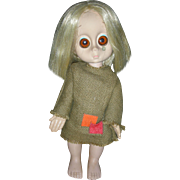 Vintage 1965 Hasbro Little Miss No Name Doll All Original Big Eyed Doll