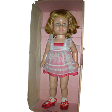 Vintage Mattel Chatty Cathy Doll 1959 Prototype 1st Issue Doll in Box Still Talks