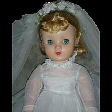 Vintage Madame Alexander Elise Bride Doll 1950's
