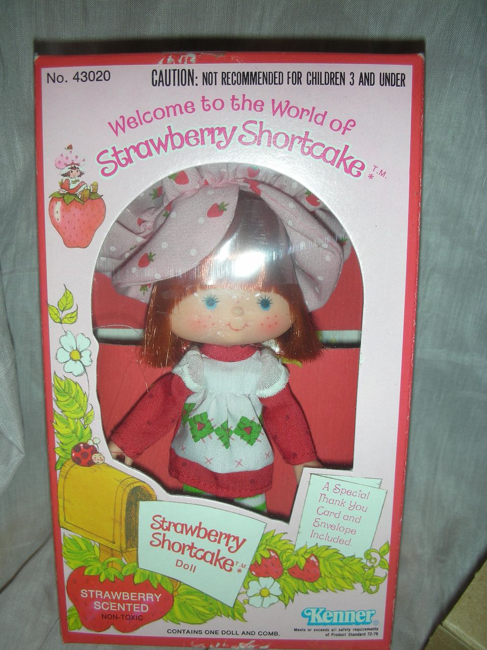 Vintage Strawberry Shortcake Doll MIB with Shipper