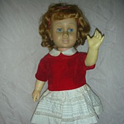 Beautiful Vintage Early Soft Face Chatty Cathy Doll by Mattel 1960's