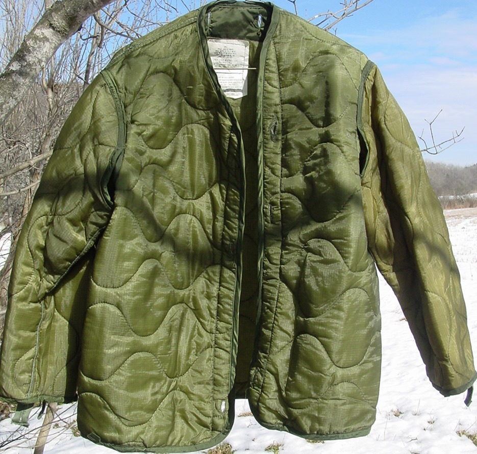Military Coat Quilted Liner Cold Weather Size Small for Field ... : quilted liner - Adamdwight.com