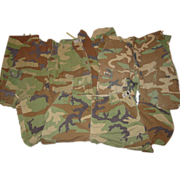 Military Woodland Camouflage Pants 35X30 Camo BDU Trousers 3 Pair Fatigue Uniform