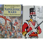 Weapons & Equipment of the Napoleonic Wars Philip Haythornthwaite Soldier 71st Hibbert Waterloo