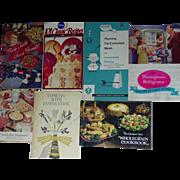 Recipes Cookbooks Planters Peanut Quaker Oats Pillsbury Kitchen Bouquet Westinghouse
