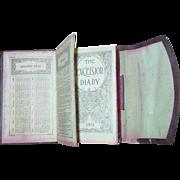 Excelsior 1915 Dairy Farmer Handwritten Diary Cuba New York Cow Pig Grain Manure Sick