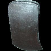 Collins Legitimus Axe Head Single Bit Crown Arm with Hammer Logo Woodworking Tool
