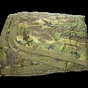 Military Liner Wet Weather Poncho Woodland Camouflage Field Blanket Sleeping Woobie