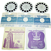 The Coronation Of Queen Elizabeth II Sawyer's View Master 1953 Reel 405 406 407 Set