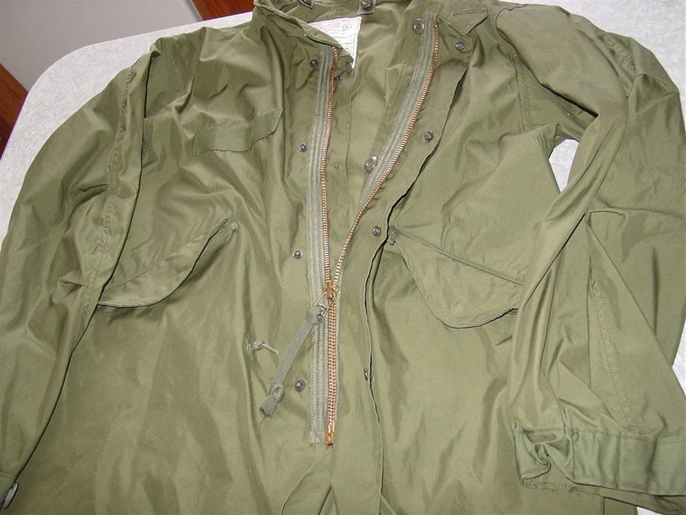 Military Parka Fishtail 1976 Small Shell Liner 1973 Hood M ...
