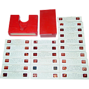 Stori-Views Viewer 3-D Red Plastic with Series H Slides St. Louis Missouri Case Toy