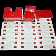 Stori-Views Viewer 3-D Red Plastic with Series G Slides St. Louis Missouri Case Toy