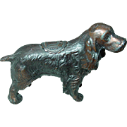 Irish Setter Dog Liberty Bell Souvenir Philadelphia Miniature Solid Pot Metal