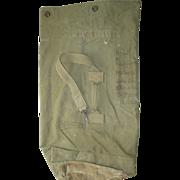 Military Bag Duffel Vietnam War Amphibian Tractor Battalion 3rd Marine Div Duffle 1965