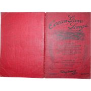 Ocean Grove Songs New Jersey Christian Hymnal Book 164 Hymns Music
