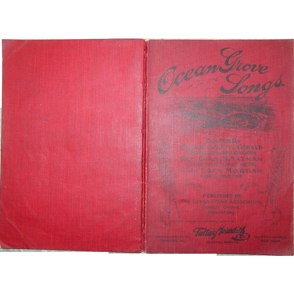 Ocean Grove Songs New Jersey Christian Hymnal Book 164 Hymns Music