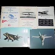 Hammondsport NY Glenn H. Curtiss Museum Souvenir 1976 June Bug 1986 Naval Aviation