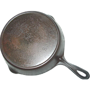 Favorite Piqua Ware Skillet No. 8 Cast Iron Fire Heat Ring Frying Pan