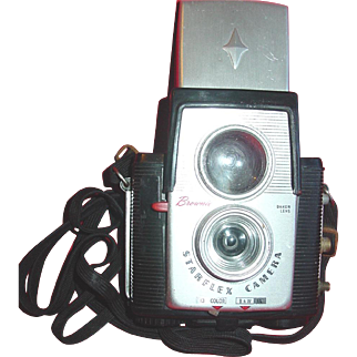 Kodak Brownie Starflex Camera 127 Film Dakon Reflex Lens