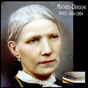 Mathieu Deroche: Portrait Miniature Winner Grand Prix 1900