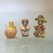 Three lovely Vienna Bronze figures  by Fritz Bermann, early 20th century