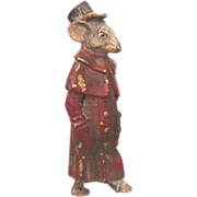 Vienna Bronze figure of a mouse signed Bergmann, early 20th century