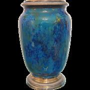 Antique Sevres Art Nouveau vase, signed Paul Milet ,ca.1910